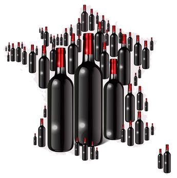 Records d'enchères pour de grands vins français