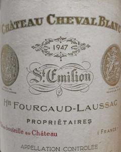 Cheval Blanc 1947 Patrimoine Grands Crus