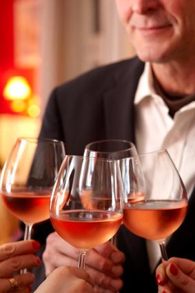 Essor des vins rosés en France