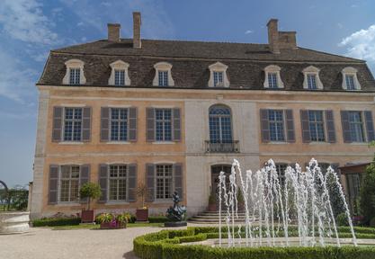 Le château Pommard en Bourgogne