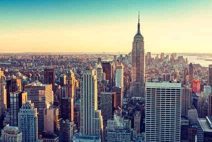 Le marché des ventes aux enchères de vin à New York