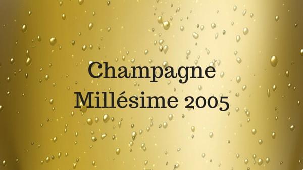 Champagne millésime 2005, défi relevé par Dom Pérignon