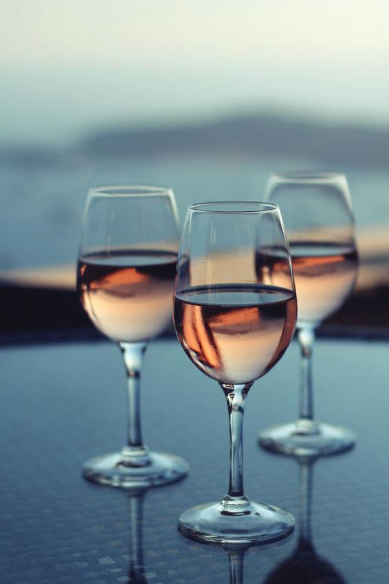 Le vin rosé fait des émules aux États-Unis